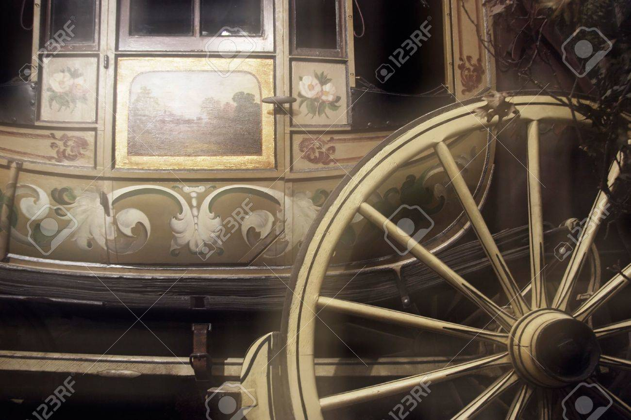 Old horse carriage Stock Photo - 204727