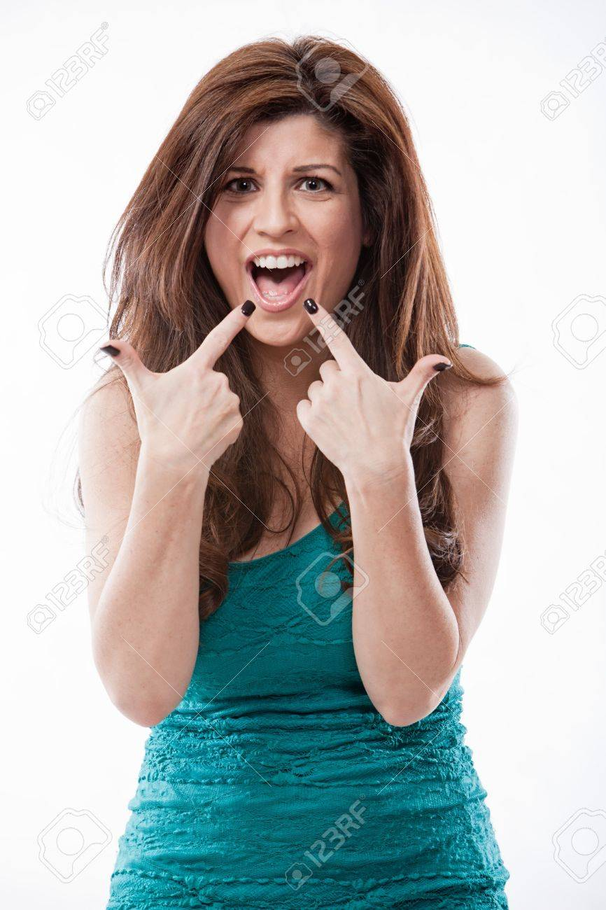 Attractive hispanic fashion woman in her forties Stock Photo - 18201758