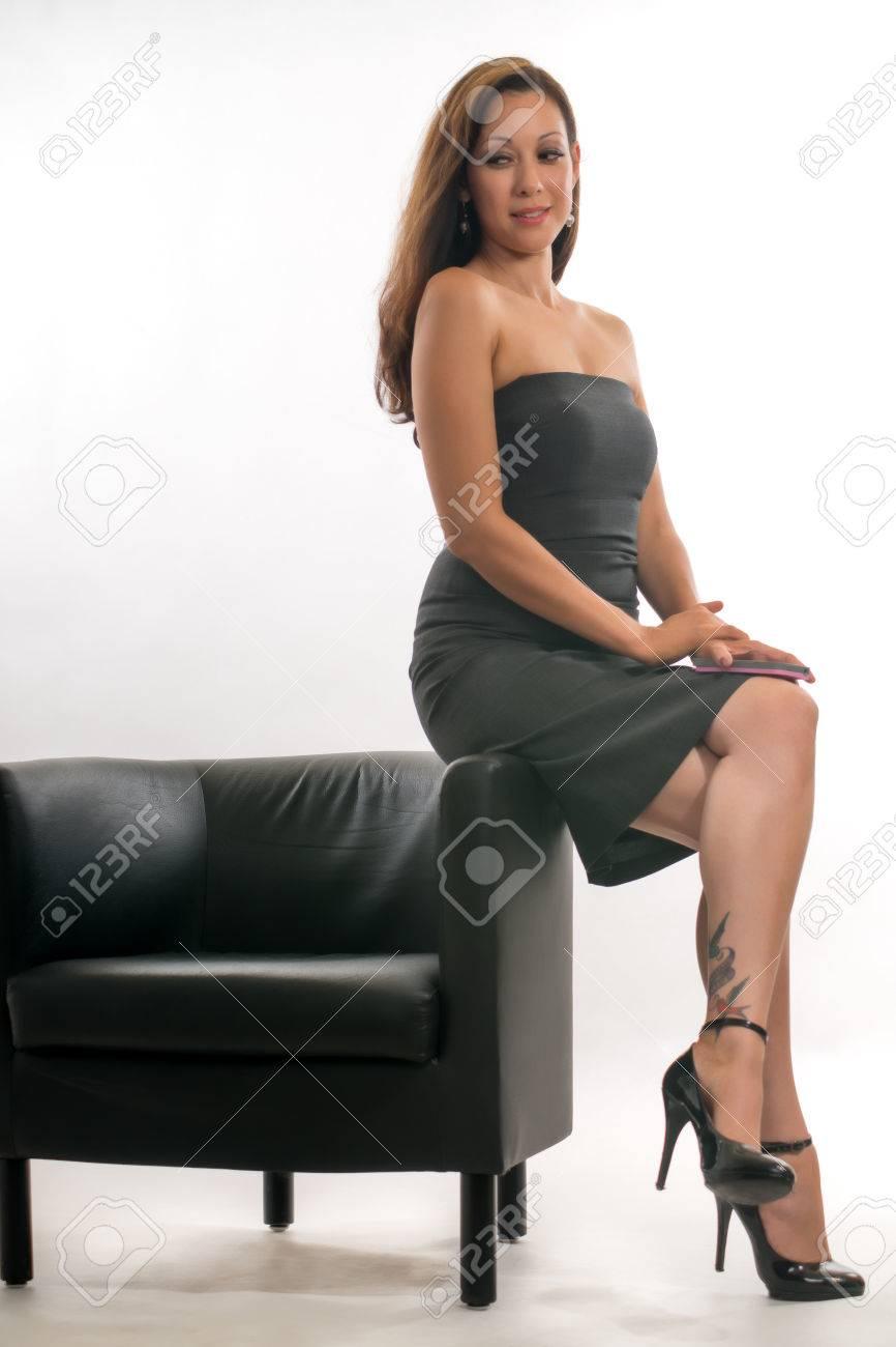 attractive hispanic brunette office career w stock photo attractive hispanic brunette office career w stock photo 24827627