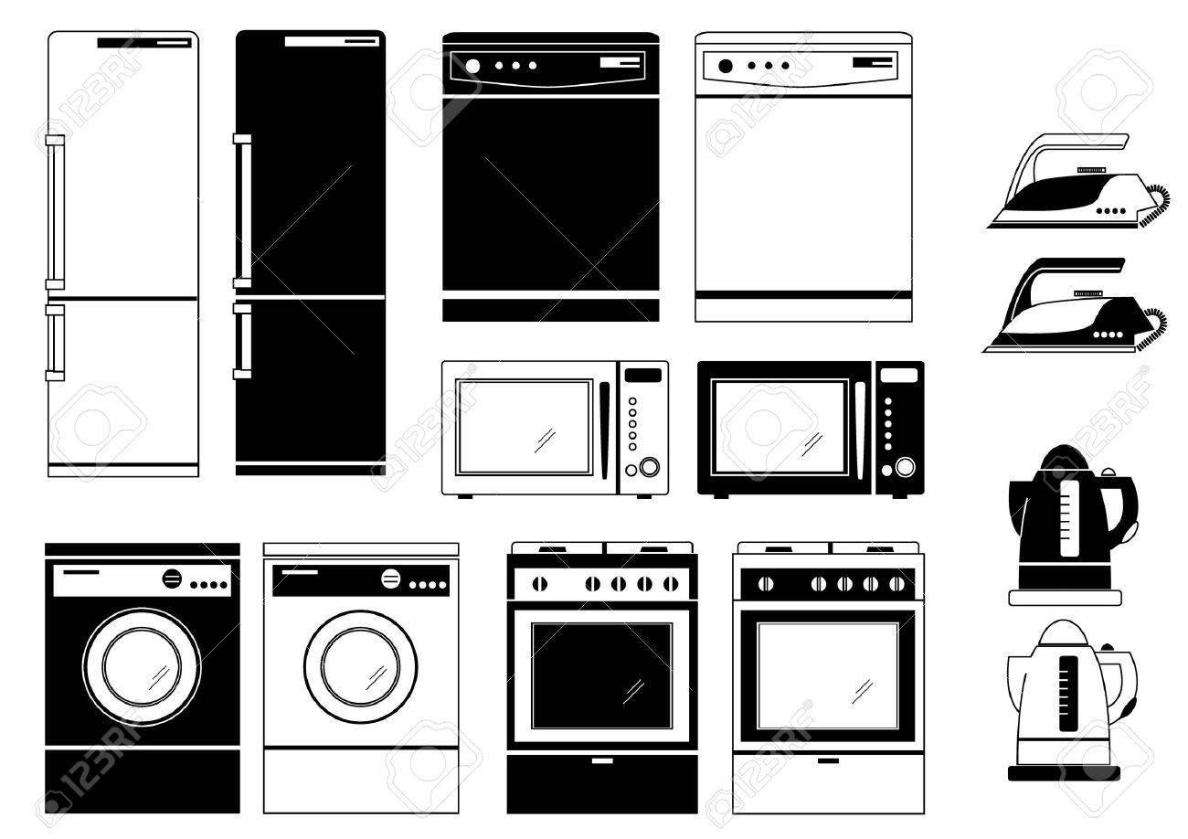 Uncategorized Domestic Kitchen Appliances domestic kitchen appliances tboots us royalty free cliparts vectors and stock