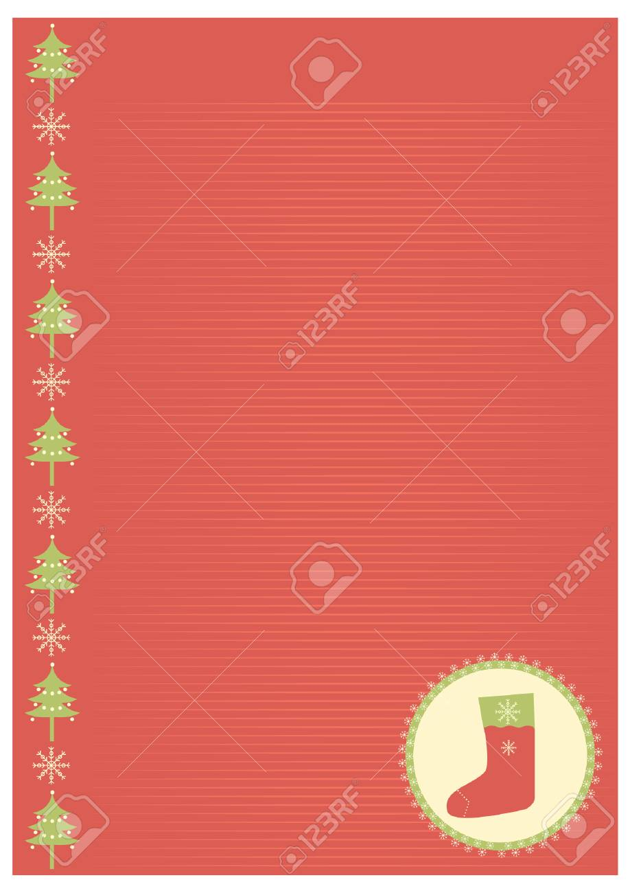 Vector vintage christmas background for text Stock Vector - 8452253