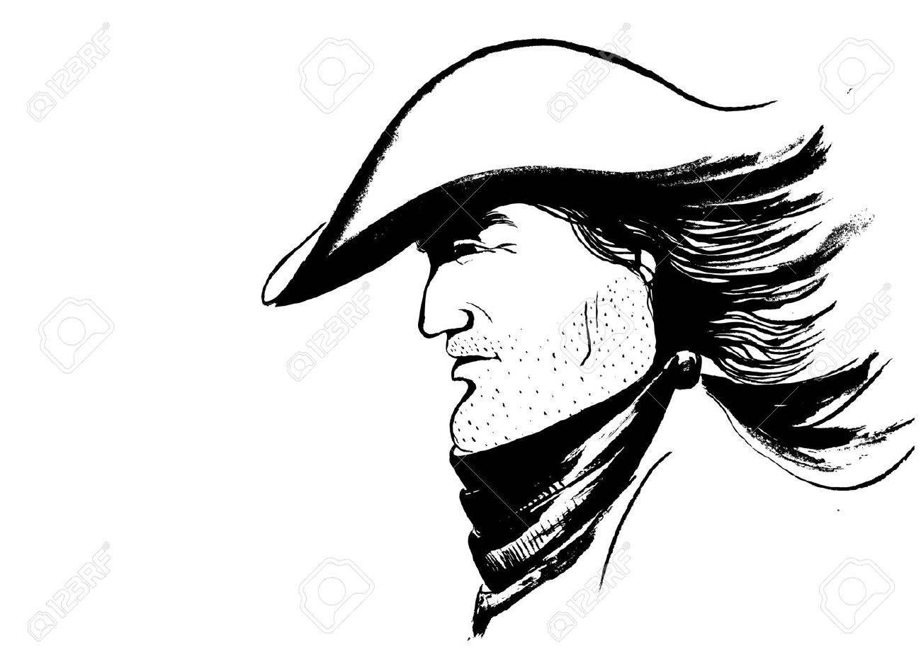 6e339308829 Vector cowboy face.Graphic portrait of strong man Stock Vector - 8480925