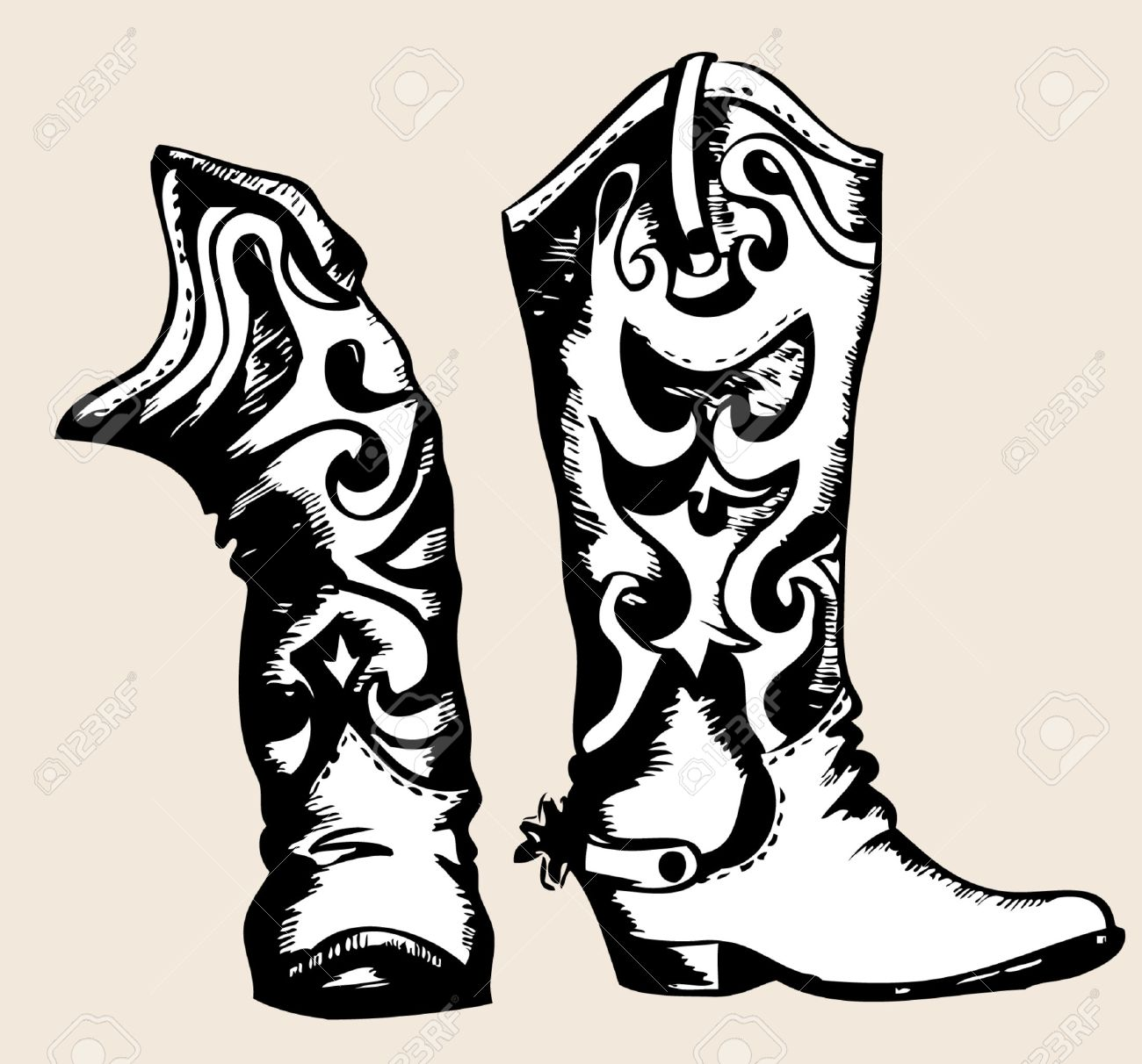 cowboy boot stock photos royalty free cowboy boot images and pictures