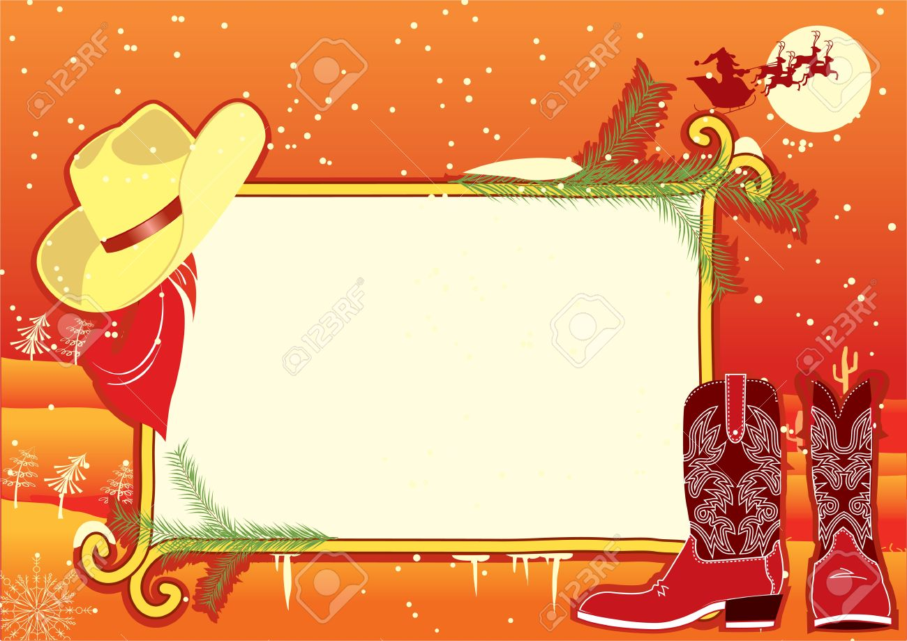7,020 Western Border Stock Vector Illustration And Royalty Free ...