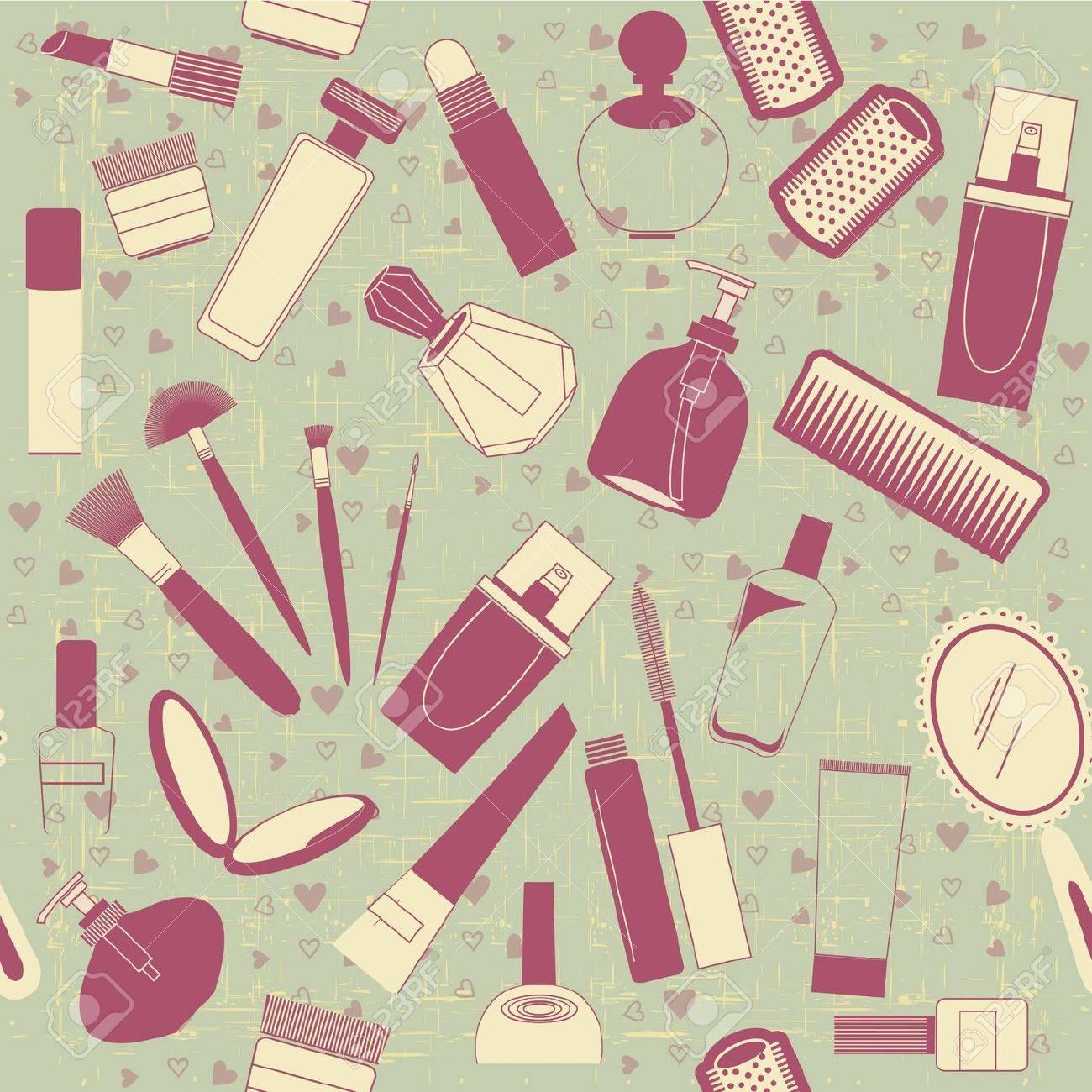 Текстуры косметики