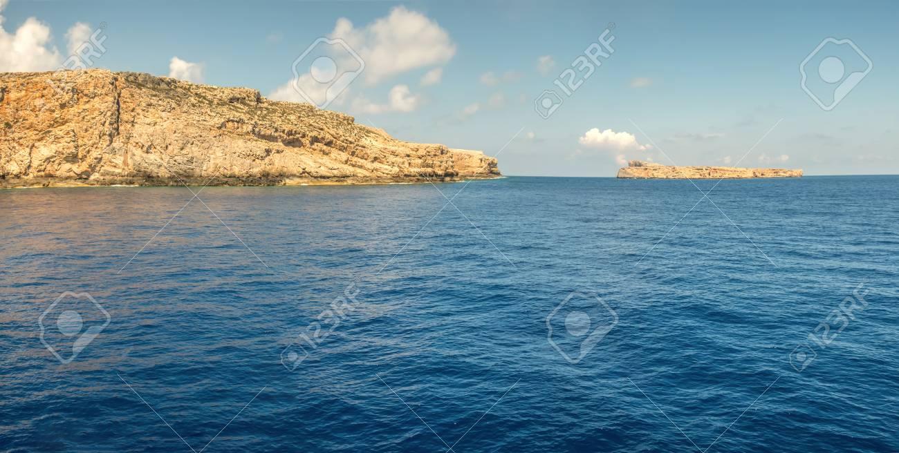 Islands near the Crete panorama - 115631854