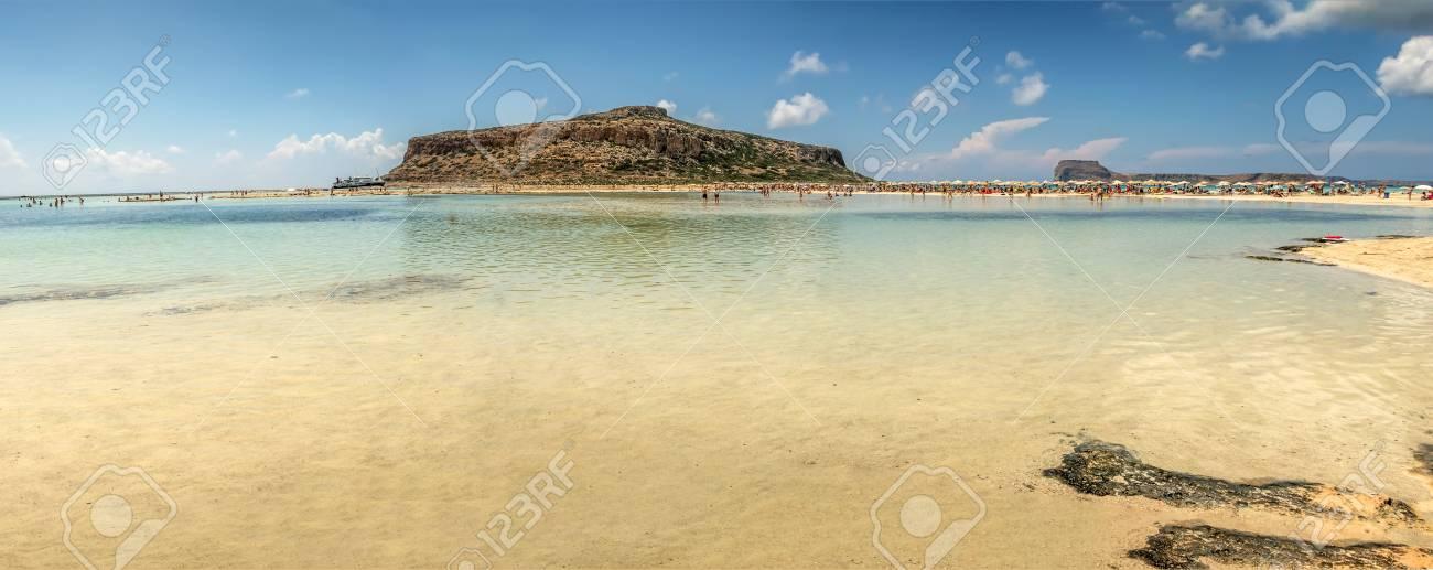 The beautiful lagoon of Balos - 115632948