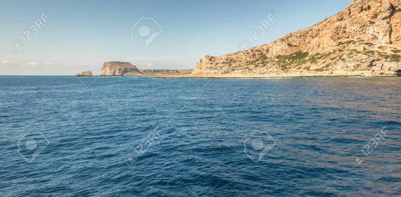 Panorama of island in Mediterranean in summer - 115633137
