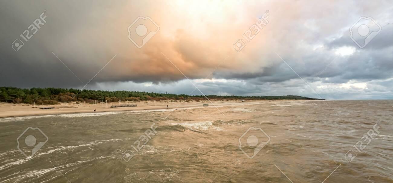 The Baltic Sea coast - 136890978