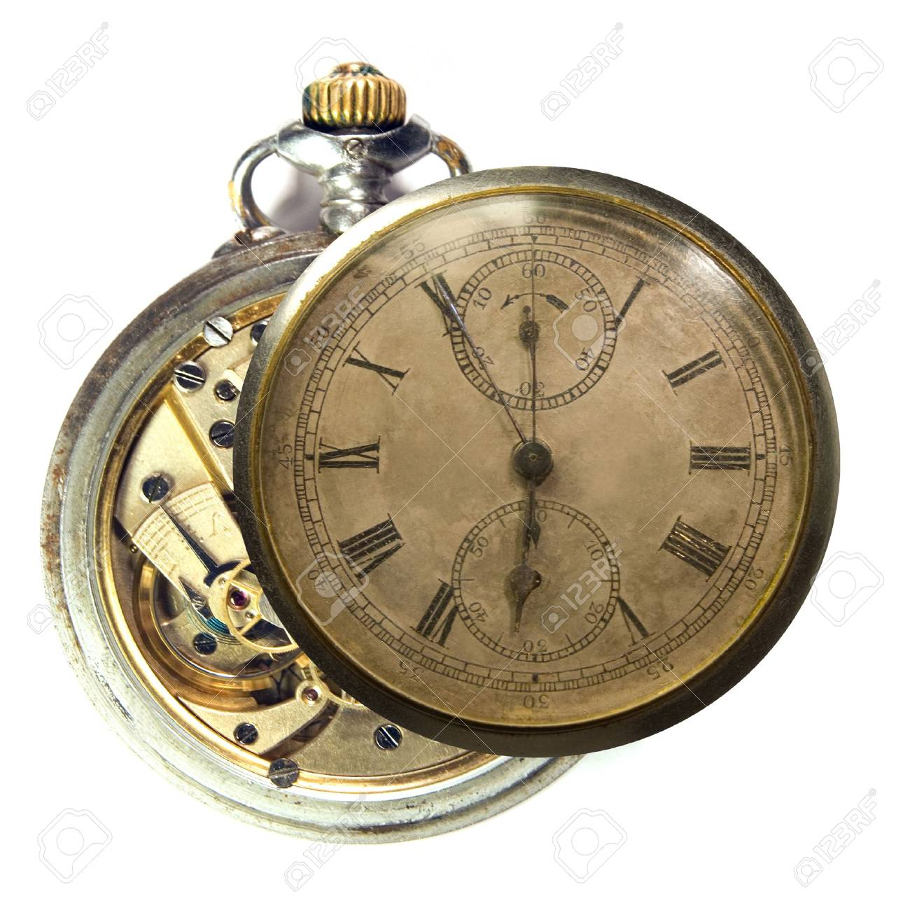 Clock-work. Old watch. - 1729557
