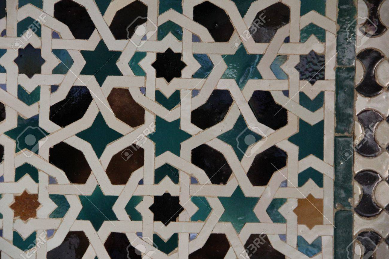 Carrelage,mosaique,mauresque Stock Photo, Picture And Royalty Free ...