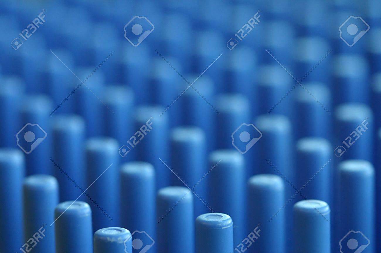 Un Closeup Di Un Laboratorio Piatto Titolare Immagine è Astratto Attraverso La Sua Qualità Superficiale Dof E Ripetitive Ritmo Potrebbe Essere