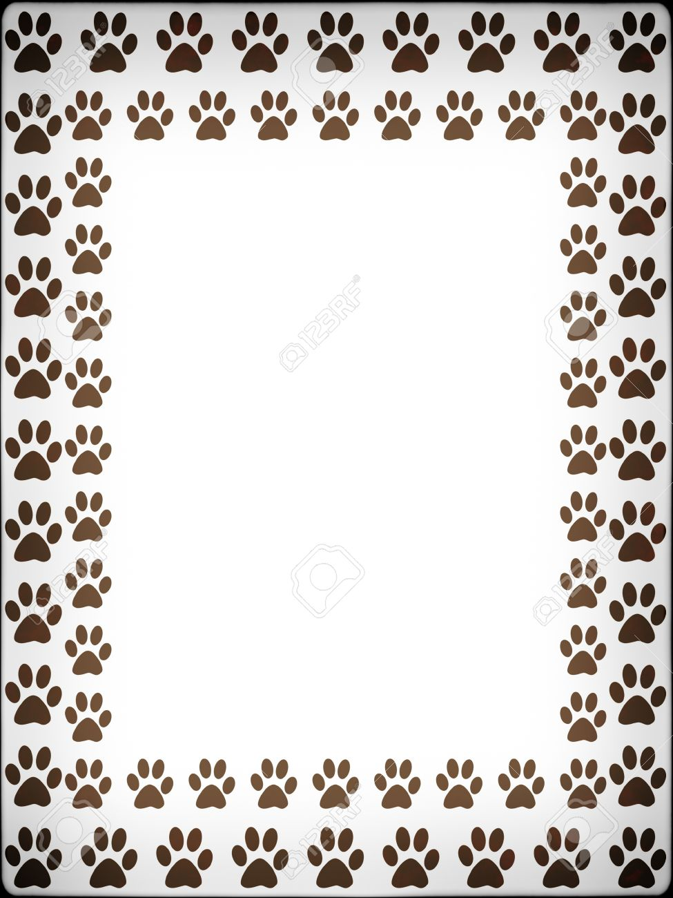 prints of cat frame with prints of cat stock photo 11513079