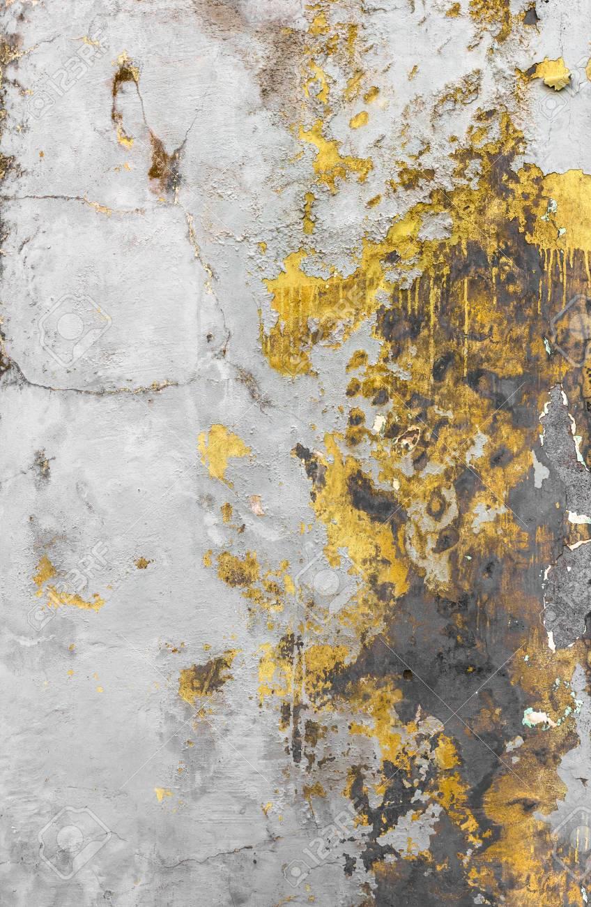 Texture De Mur Sale Avec De La Peinture Qui Se Décolle