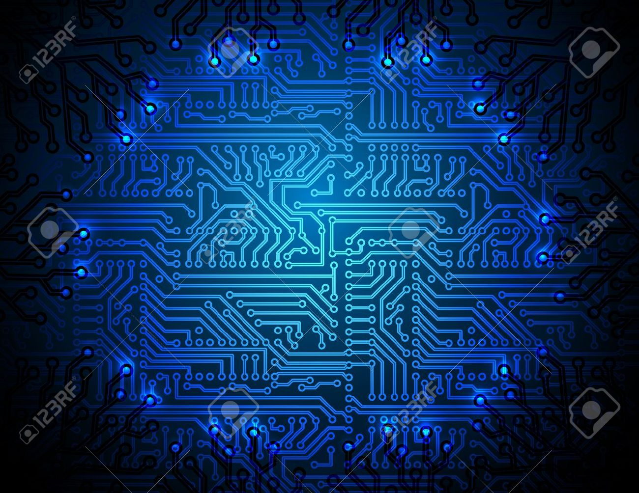 circuit board background Stock Vector - 13696039
