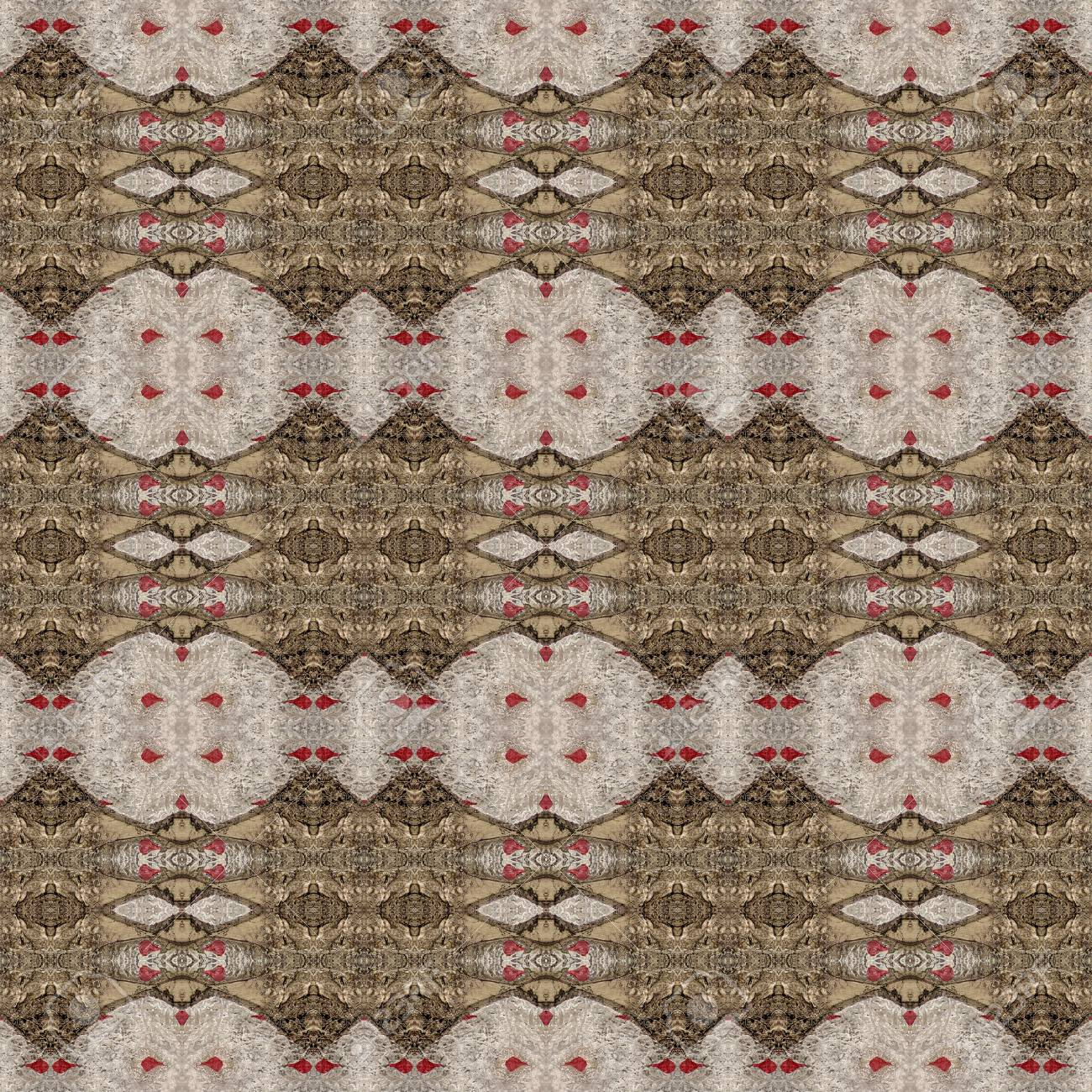 Seamless Design Of Textured Gothic Pattern Wallpaper Background