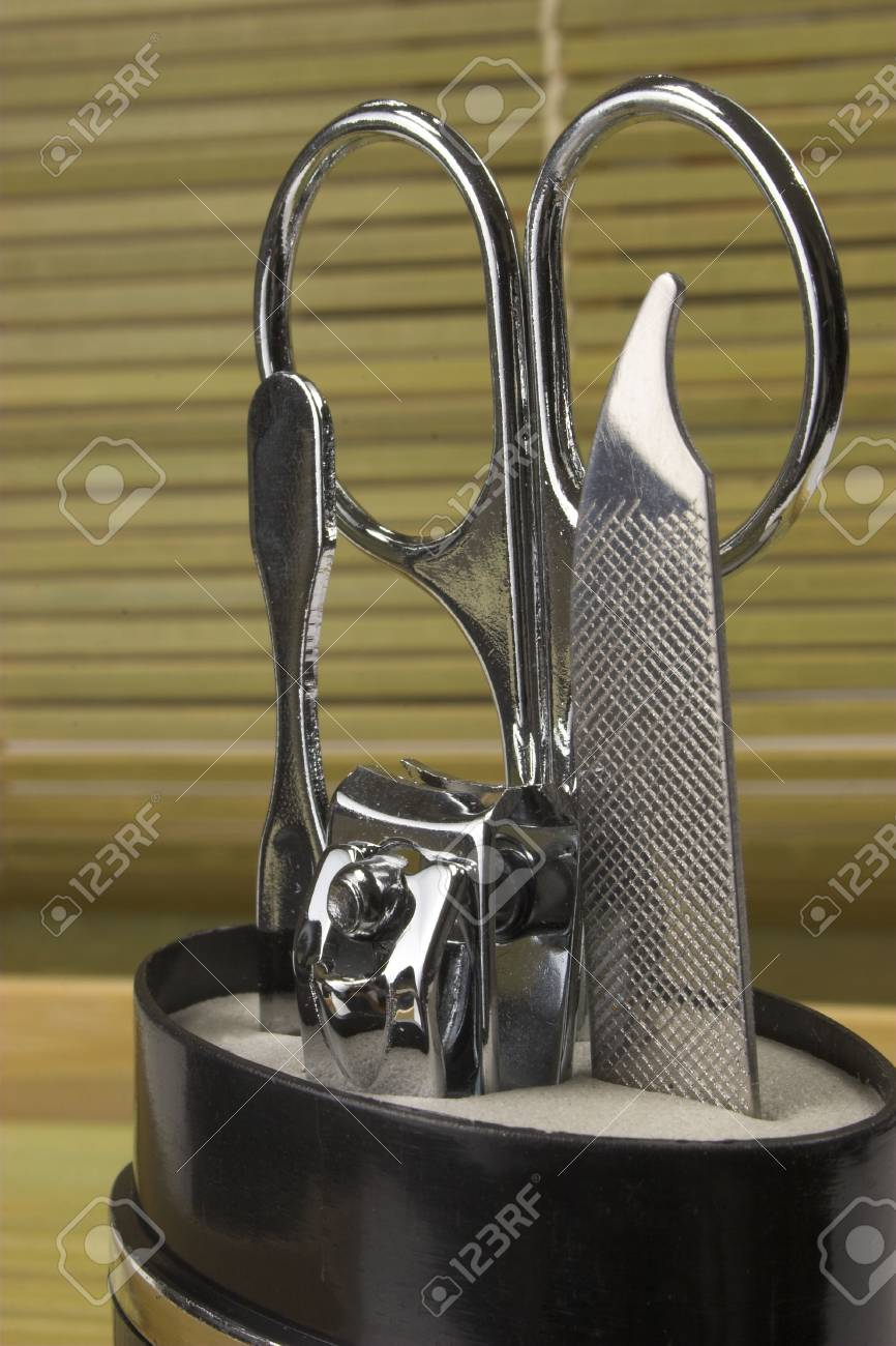 Manicure and pedicure set Stock Photo - 445599