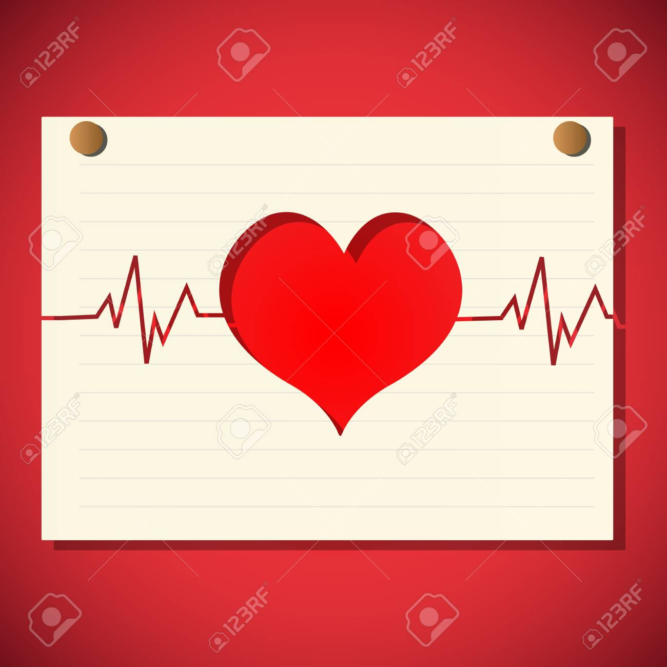 illustration of healthy heart Stock Vector - 8441758