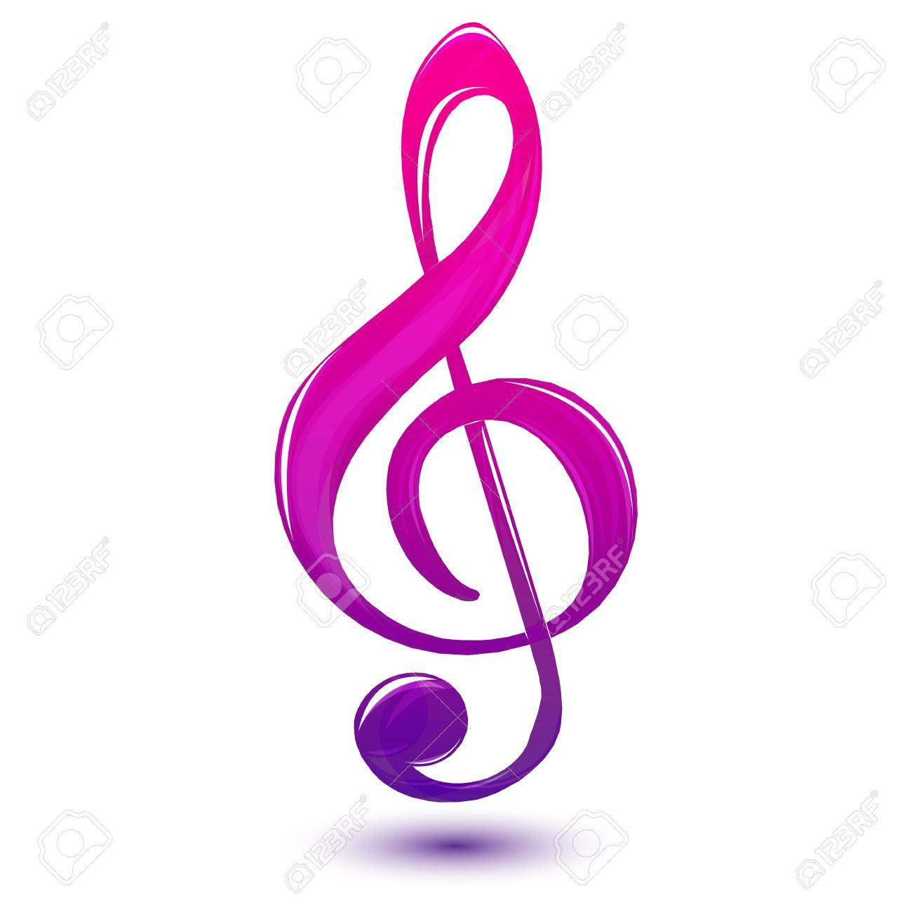 illustration of music text on white background Stock Vector - 8901423