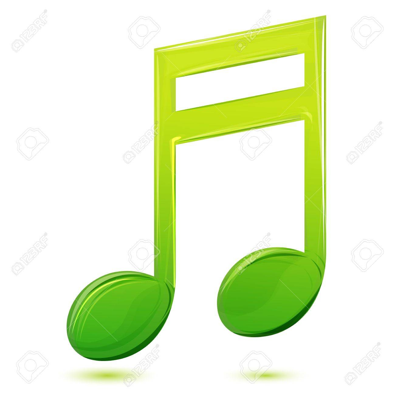 illustration of musical text on white background Stock Vector - 9269591