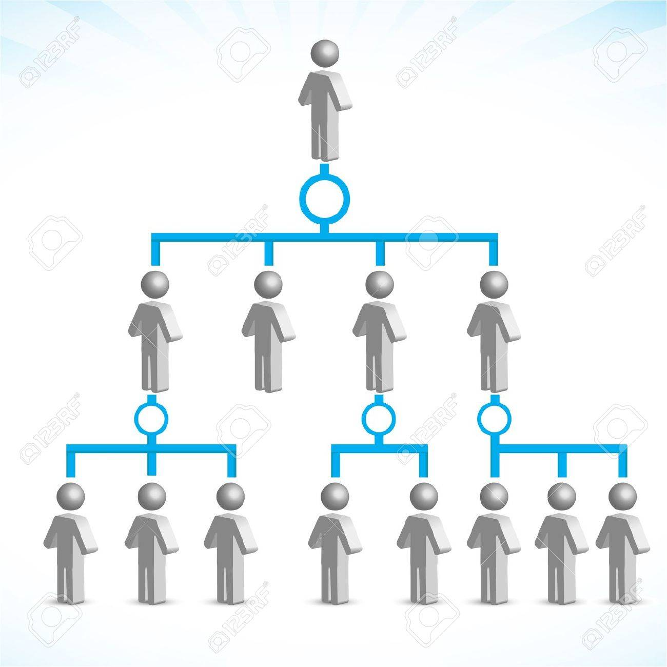 illustration of networking on white background - 9438609