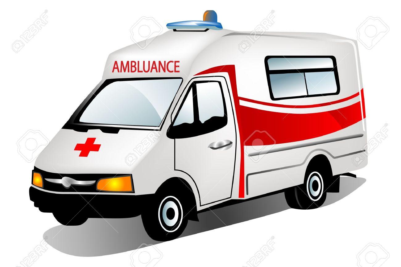 illustration of ambulance - 9763366