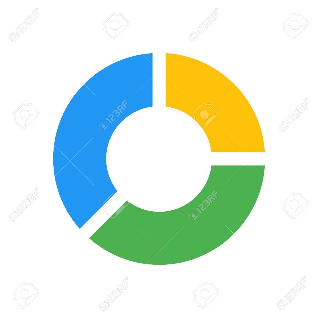 separate doughnut chart