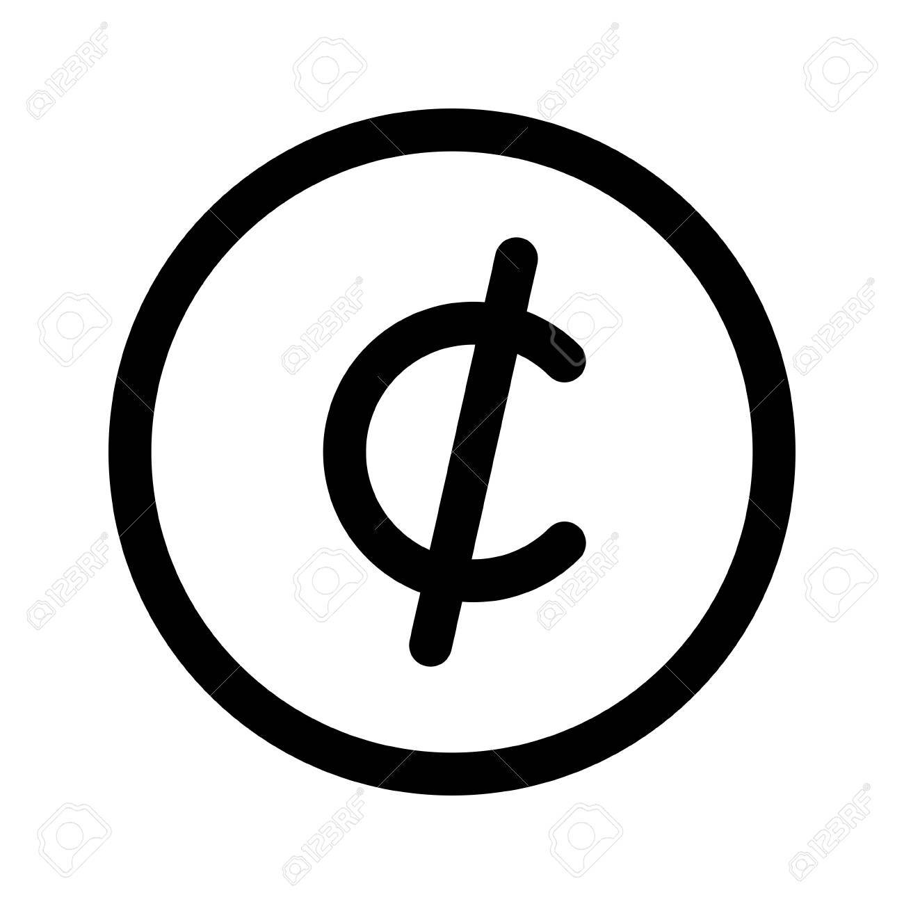 Cent symbol gallery symbol and sign ideas cent symbol royalty free cliparts vectors and stock illustration cent symbol stock vector 86682971 buycottarizona buycottarizona