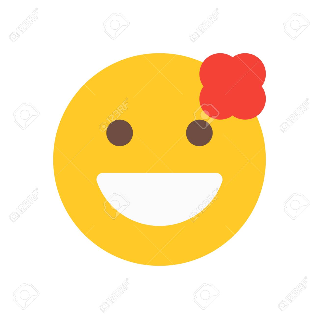 emoticon blume