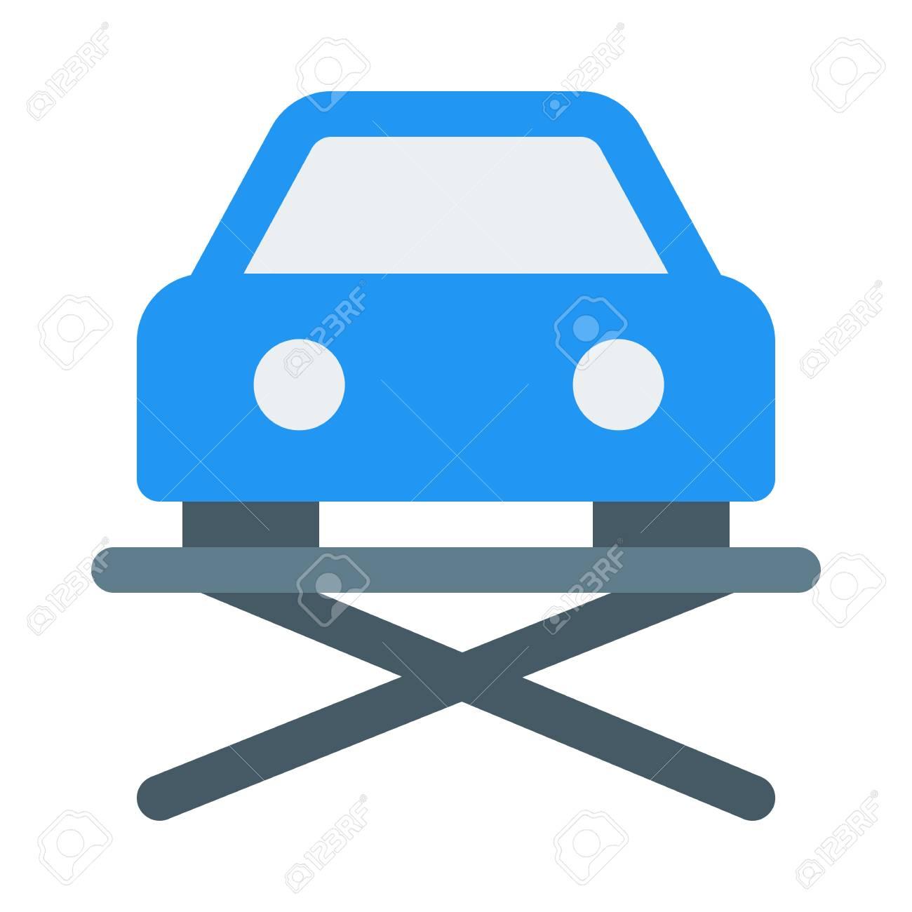 Hydraulic Car Lift >> Hydraulic Car Lift Icon