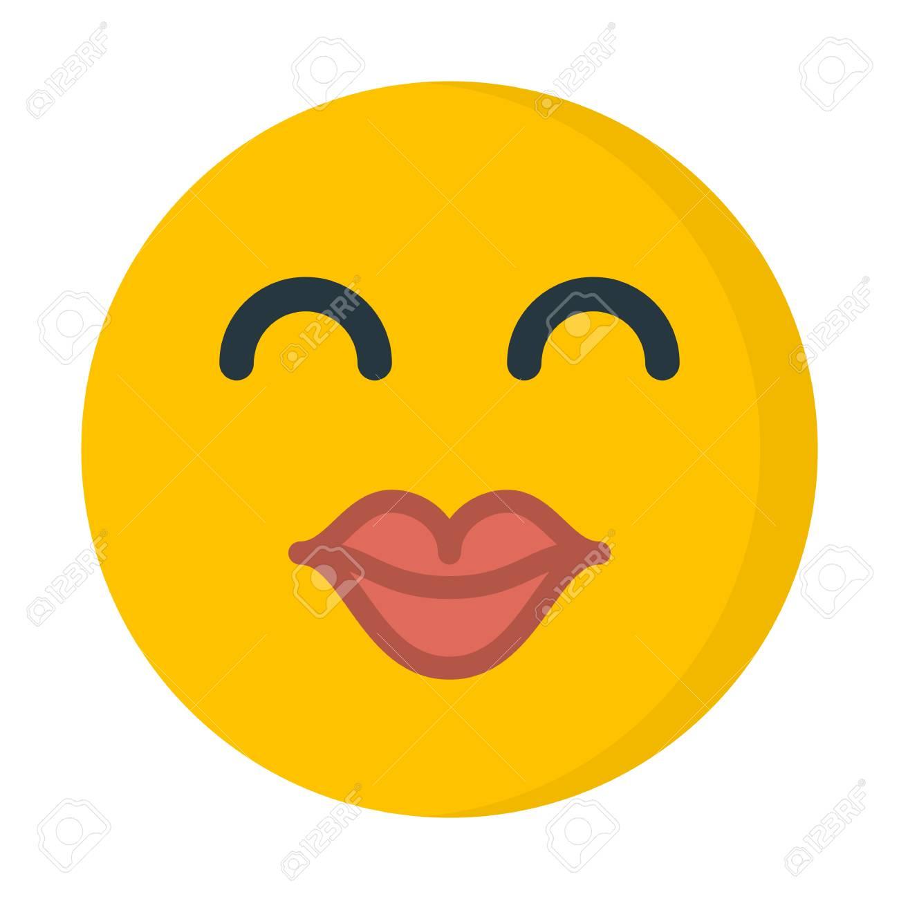 kiss emoji illustration royalty free cliparts vectors and stock
