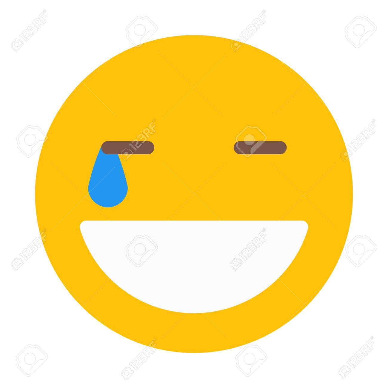 Laugh Hard Smiley - 126407831
