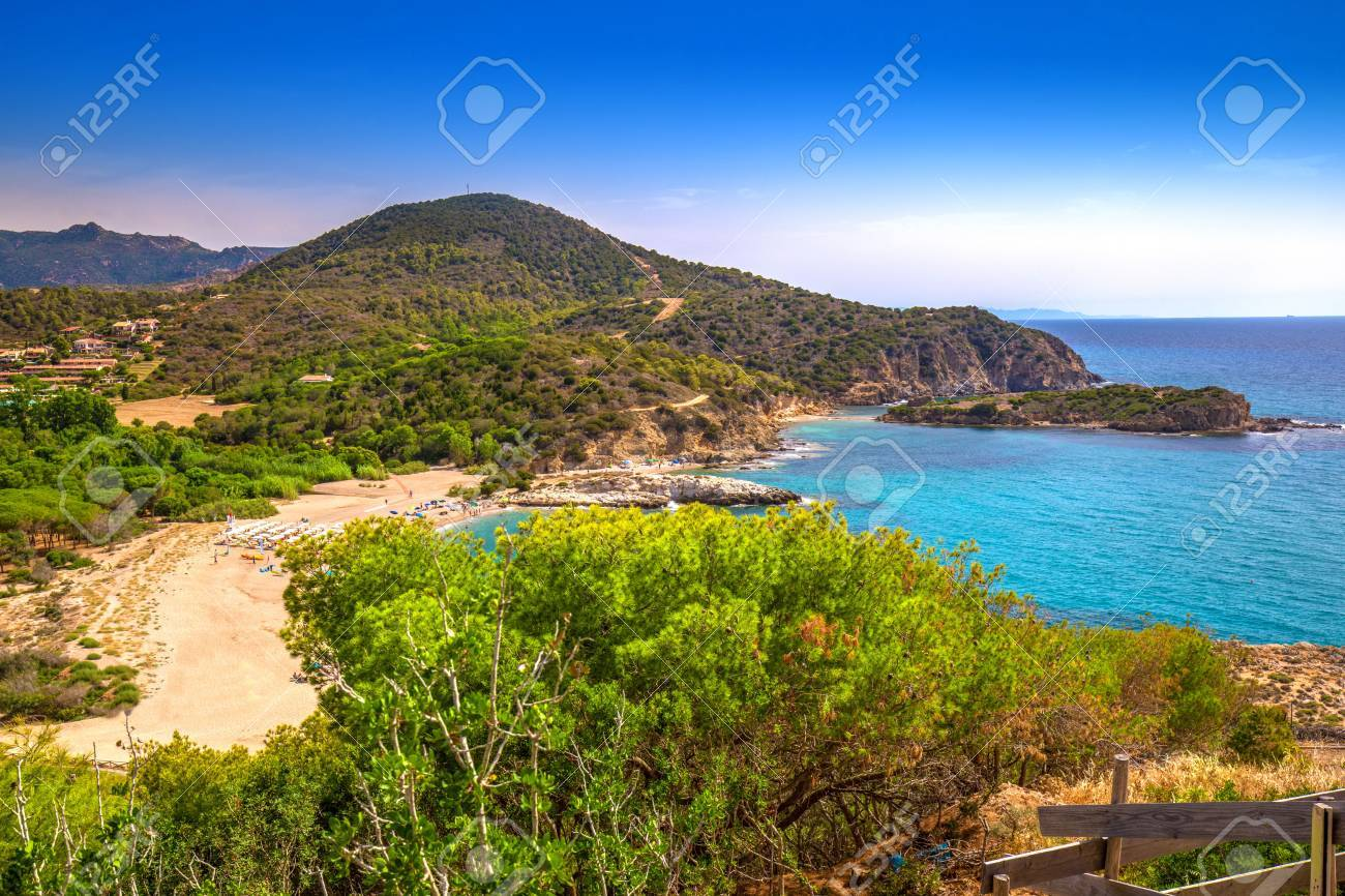 Su Portu Beach Chia Sardinia Italy Europe Sardinia Is The