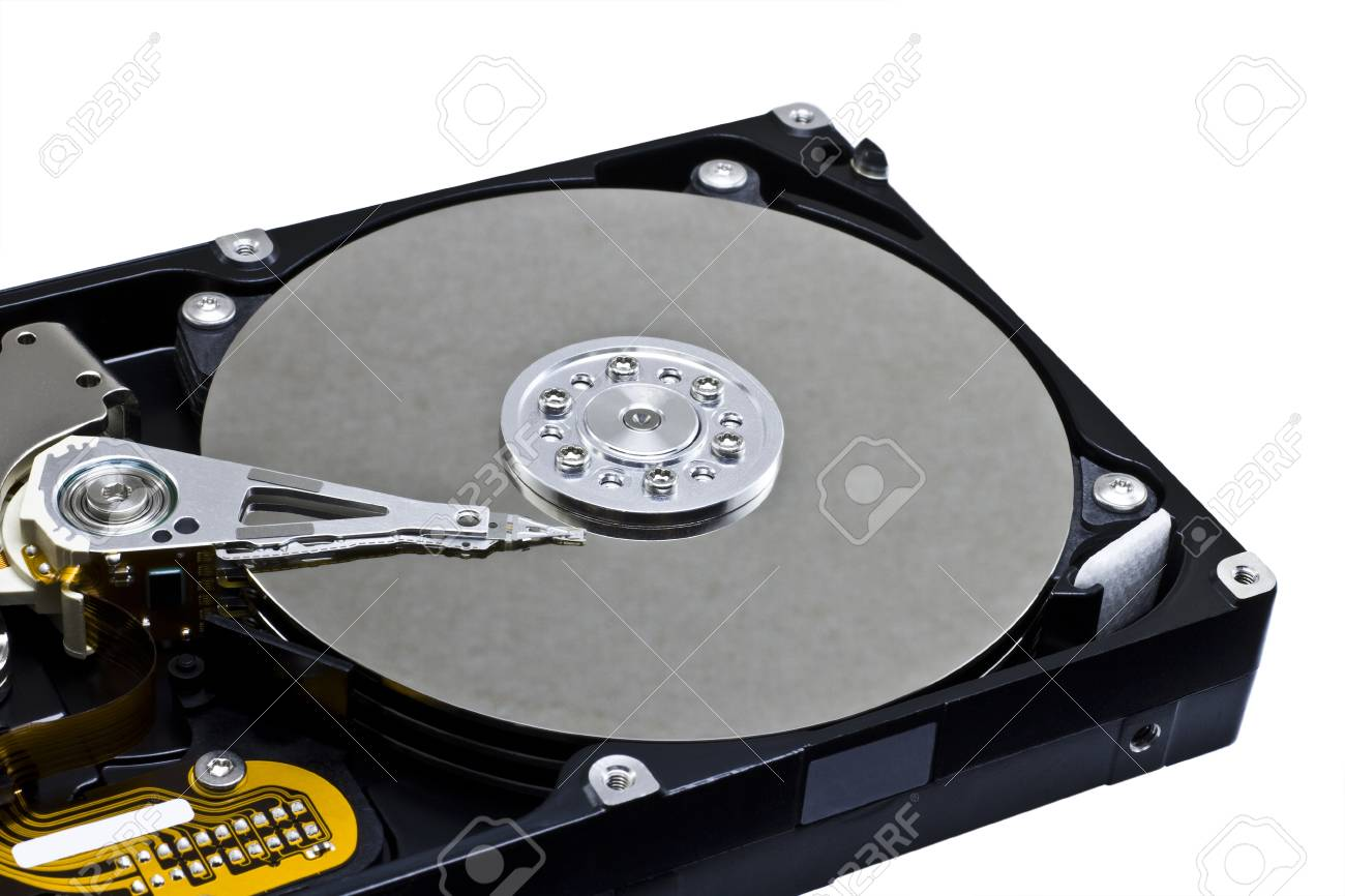 open server hard drive in close up shot Stock Photo - 10019642