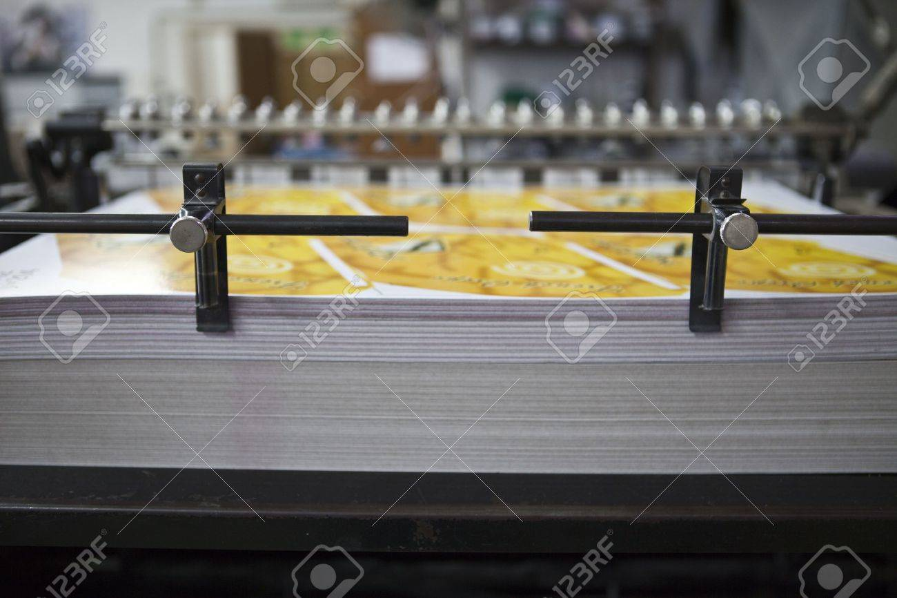 download material for printing presses Stock Photo - 9059447