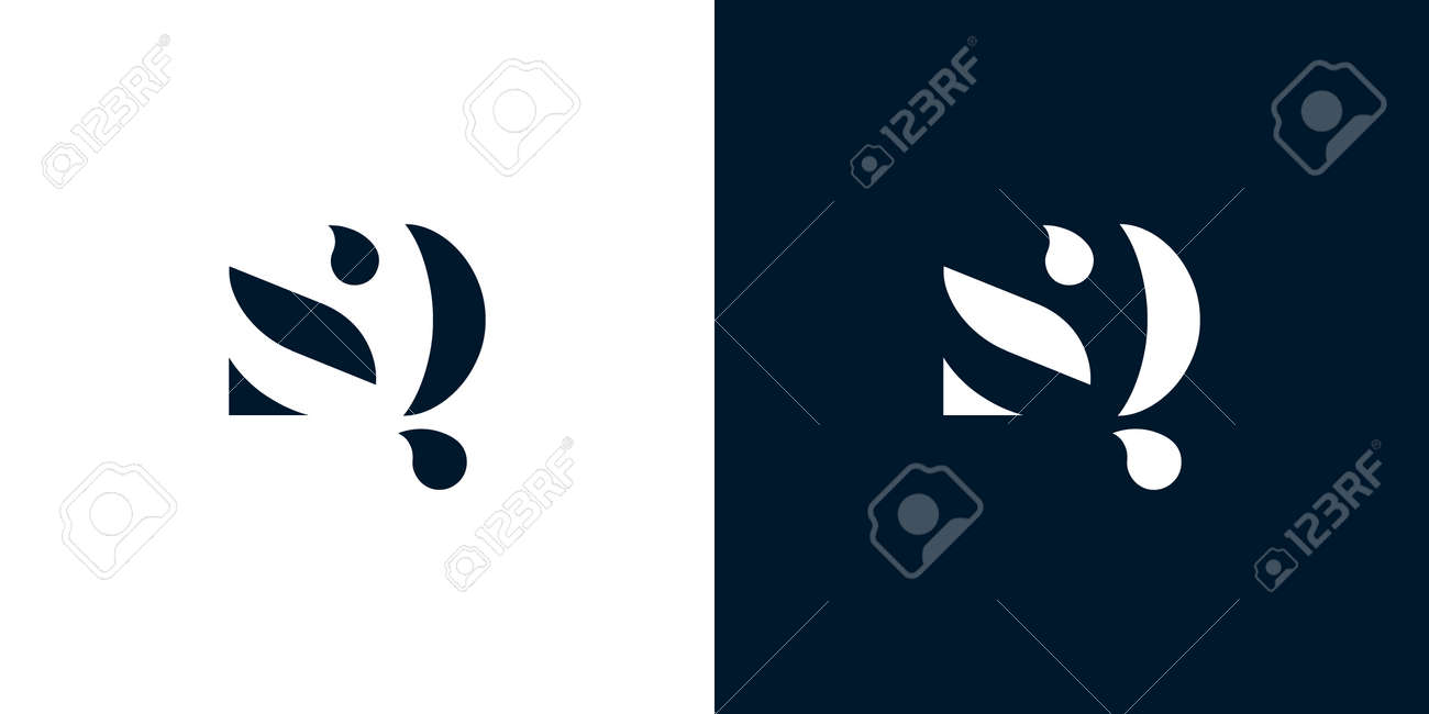 Abstract letter SQ icon. - 159188213