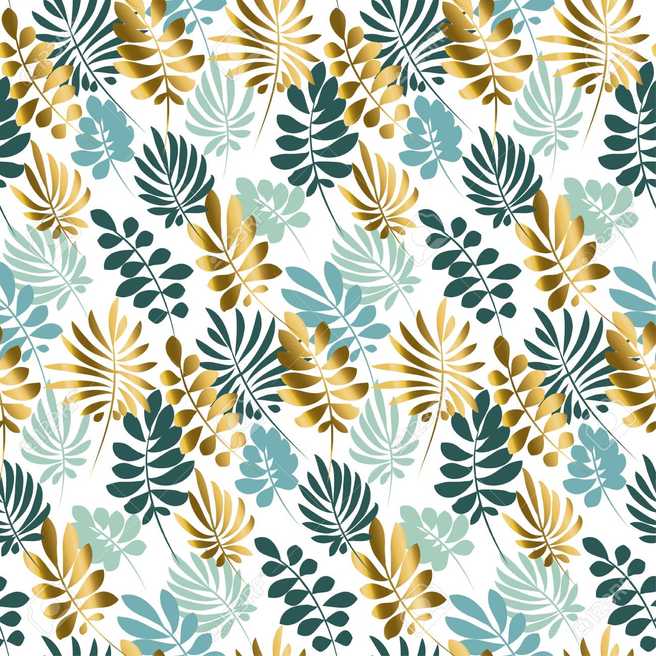 Abstract Tropical Leaves Seamless Pattern In Tender Pastel Color Royalty Free Cliparts Vectors And Stock Illustration Image 75414434 Vector image summer trendy tropical palm leaves header template with twinkling. abstract tropical leaves seamless pattern in tender pastel color
