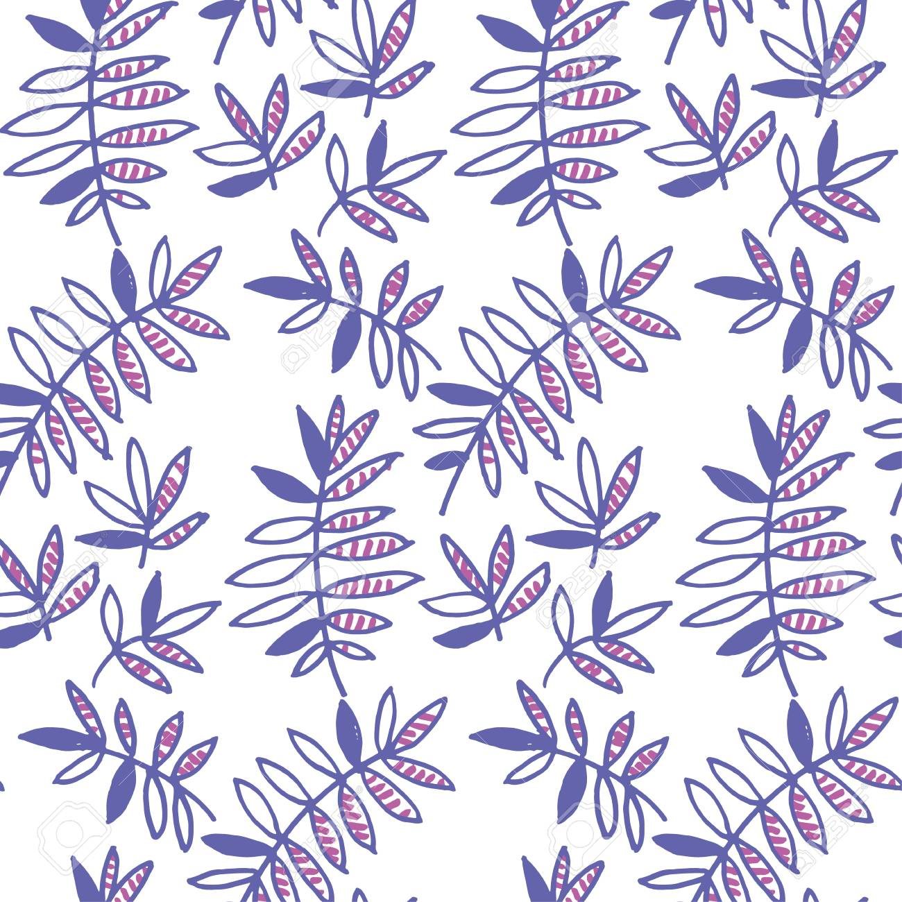 Tender Violet Floral Motif Vector Illustration Tropical Leaves Royalty Free Cliparts Vectors And Stock Illustration Image 79453526 Download this free vector about collection of tropical leaves, and discover more than 10 million professional graphic resources on freepik. 123rf com