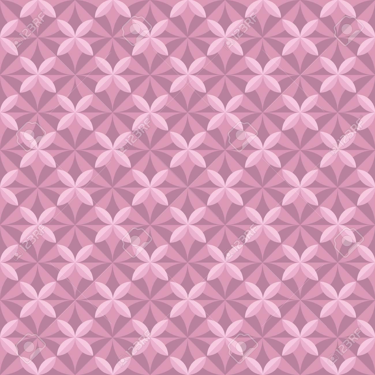 Delicato Colore Viola Pallido 8 piastrelle di colore pallido viola incisione vintage retrò stile modello  di geometria senza soluzione di continuità illustrazione vettoriale di