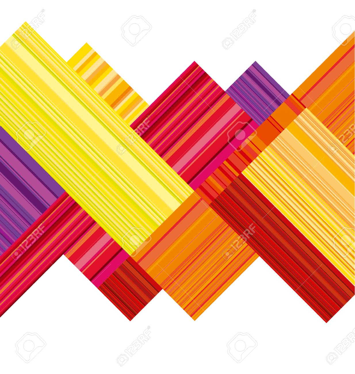 Red And Orange Abstract Header. Vector Wallpaper With Colorful ...