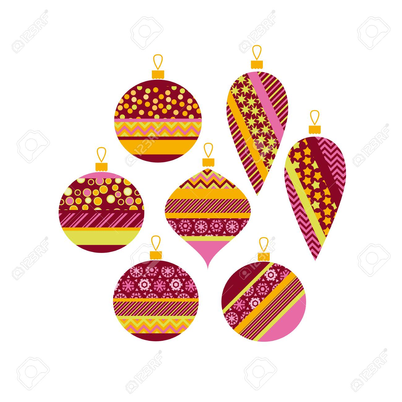 Best Baubles Templates To Colour Photos Christmas Baubles