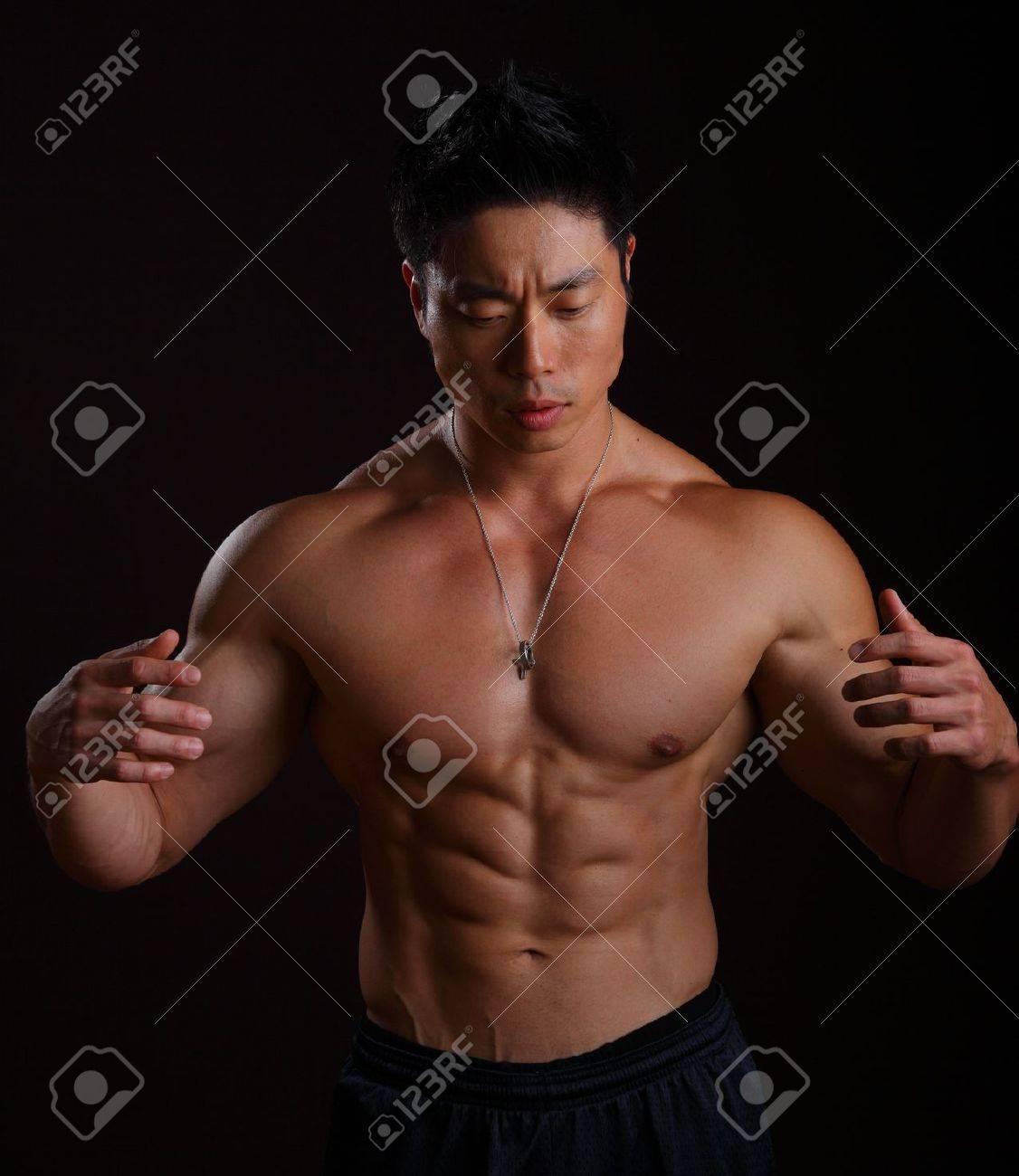 Black asian bodybuilders