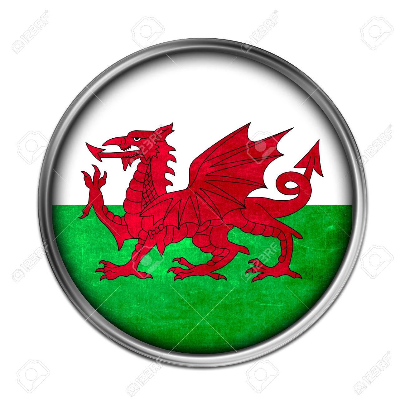 Botón De La Bandera De Gales Fotos, Retratos, Imágenes Y Fotografía ...