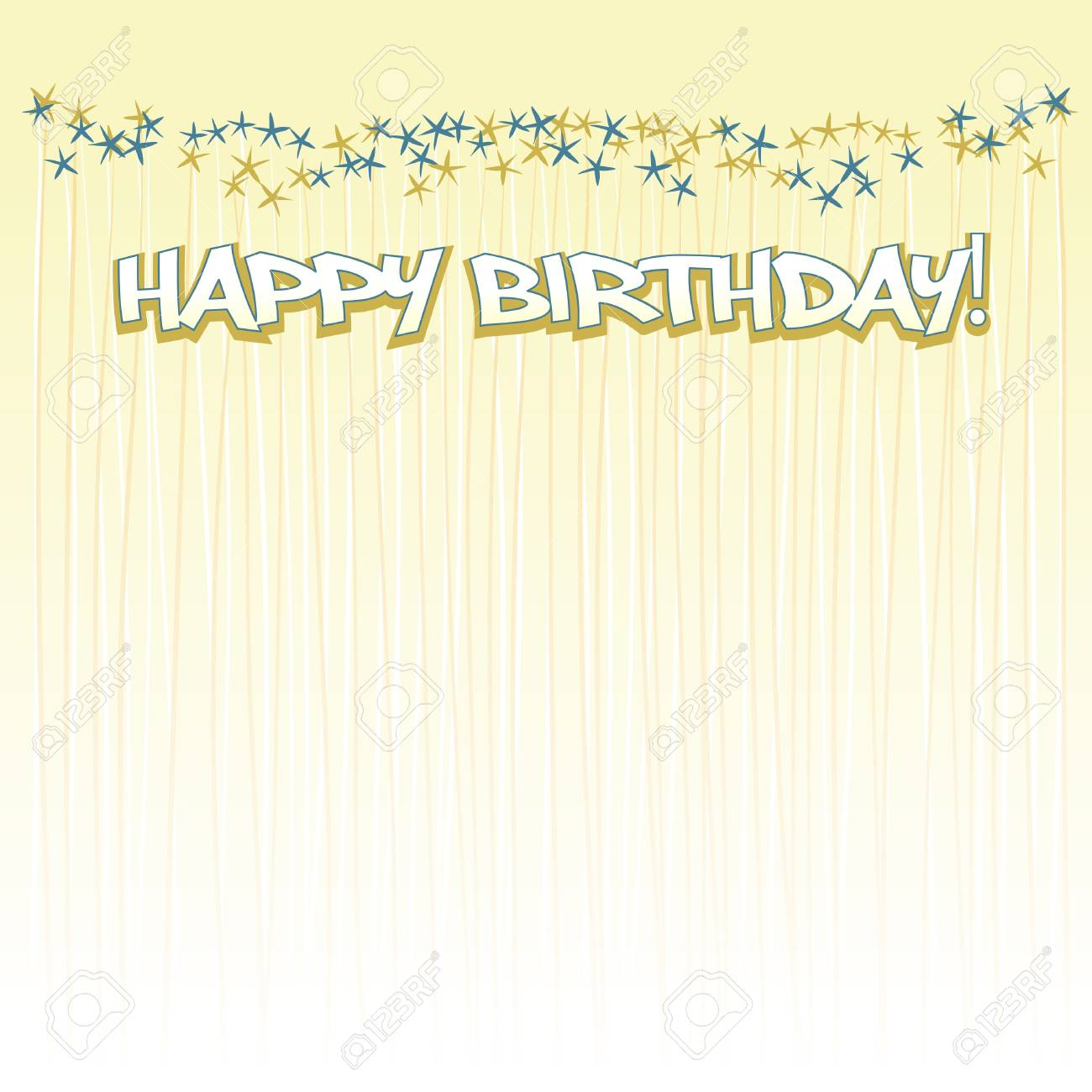 happy birthday background Stock Vector - 9654938