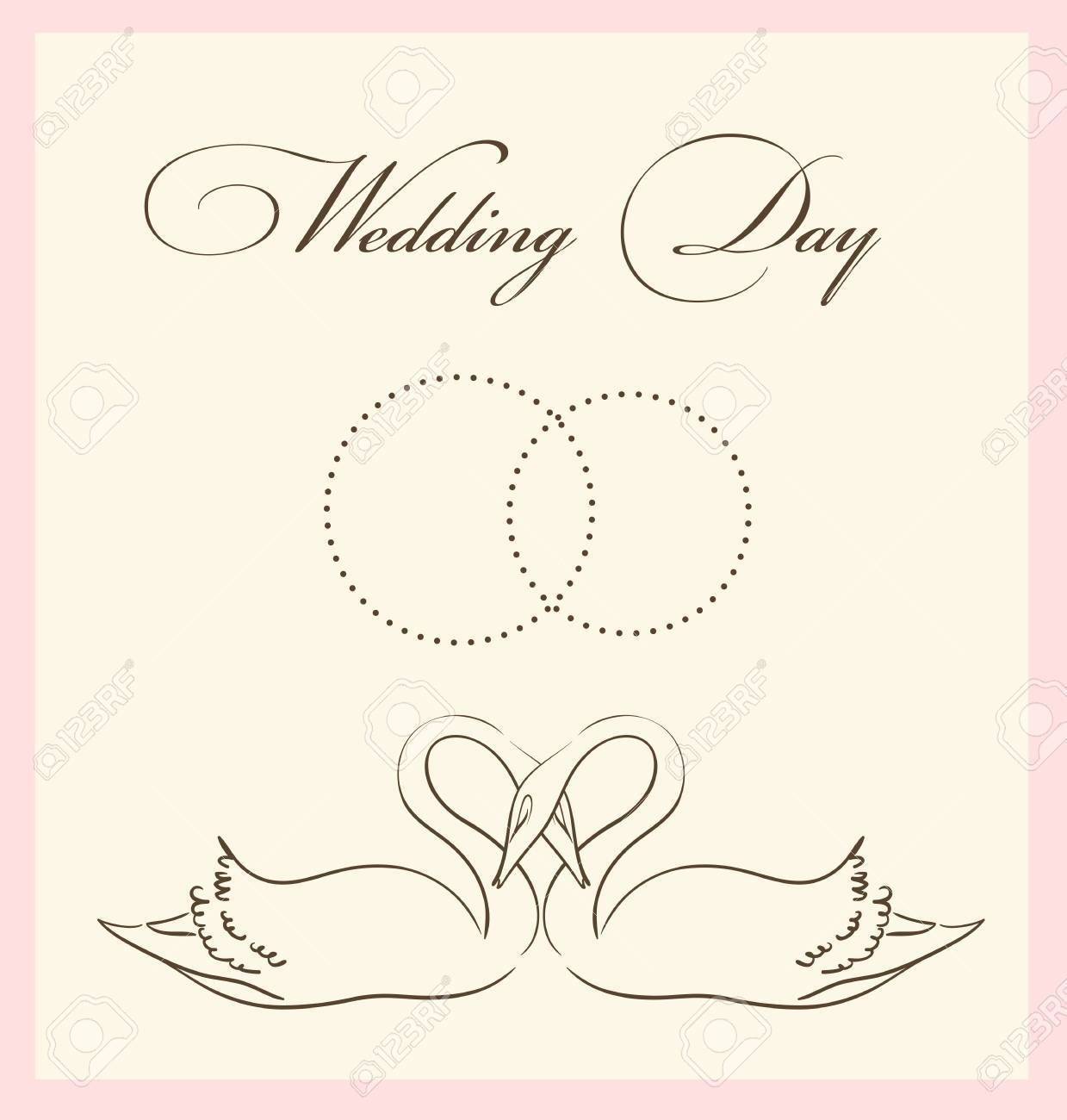 Wedding Card Template Royalty Free Cliparts Vectors And – Wedding Card Template