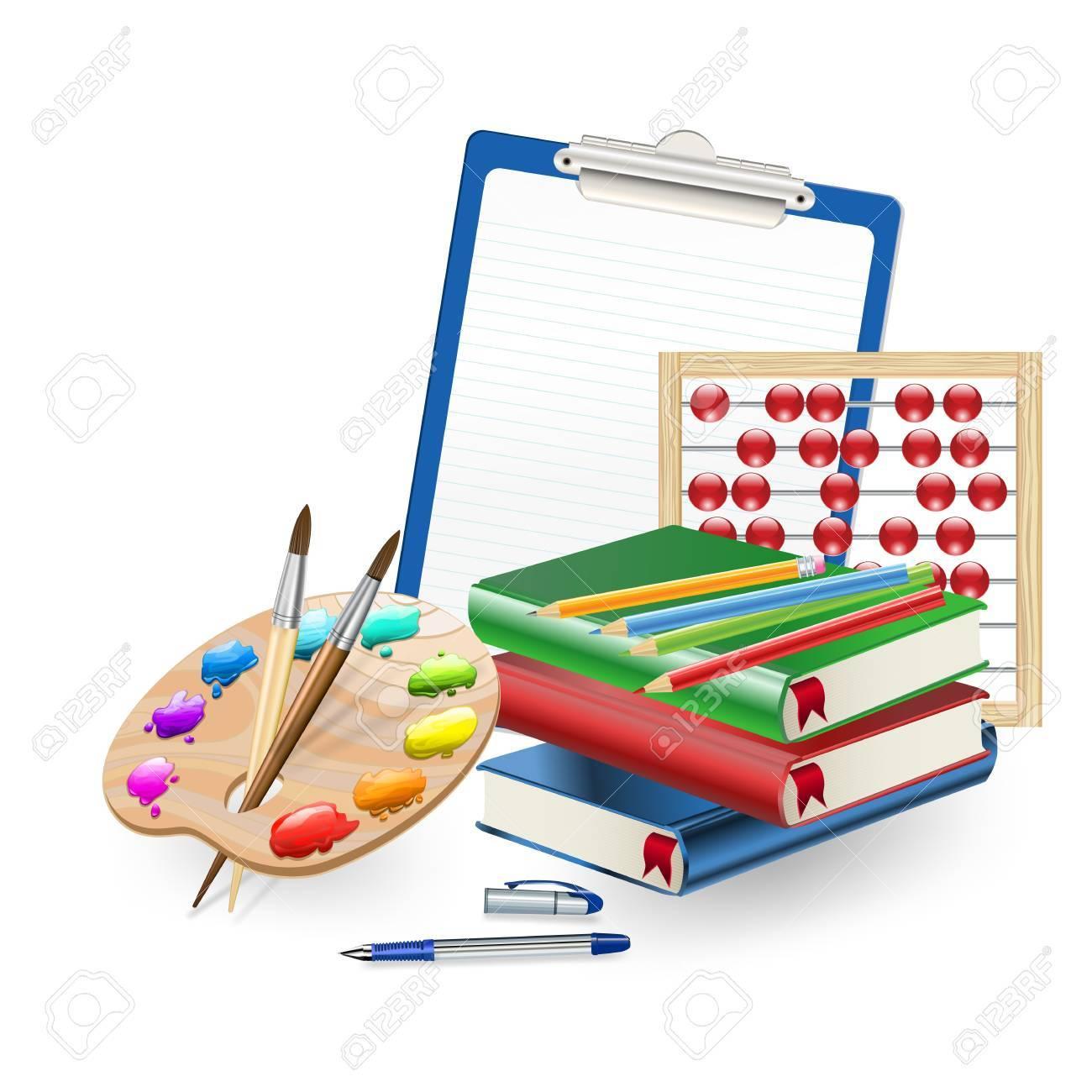 school supplies Stock Vector - 18246406