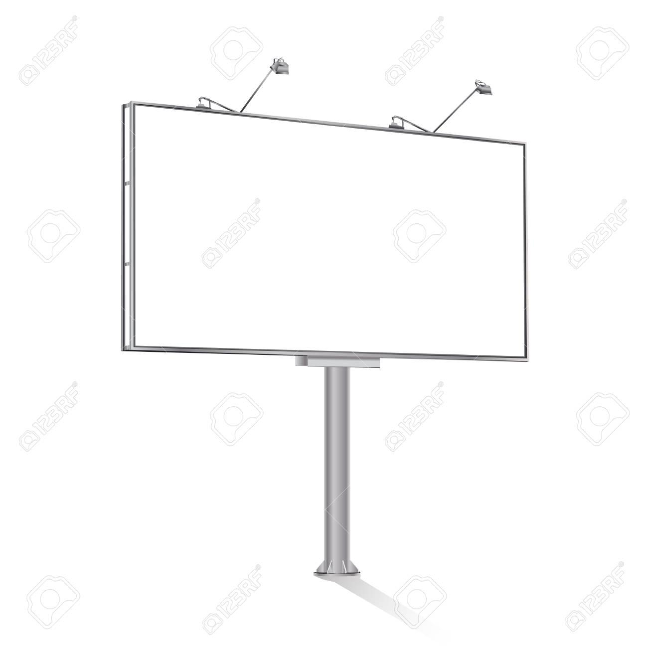billboard on white - 37553393