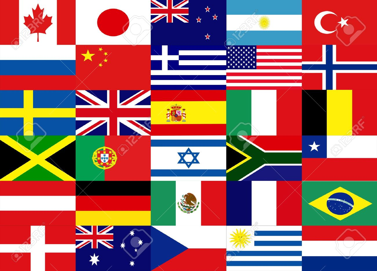 Countries Flag Stock Photo, Picture And Royalty Free Image. Image ...