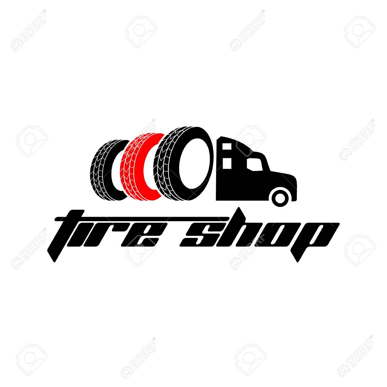 Tyre Shop Logo Design Tyre Business Branding Tyre Logo Shop