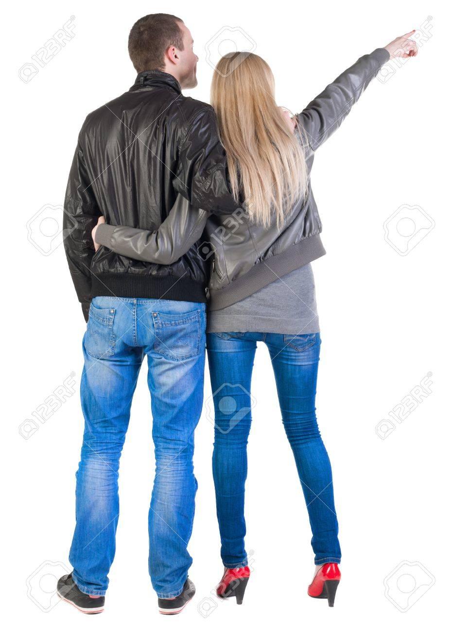 Фото девушек сзади с мужчиной 15 фотография